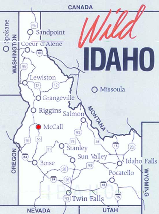 Mccall Idaho Map | Park Map